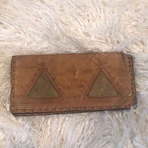 Handmade Egyptian wallet real leather